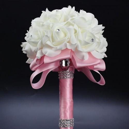 Булчински Букет в Розов цвят
