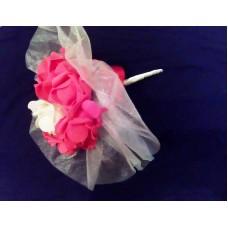 Букет за хвърляне Червени рози