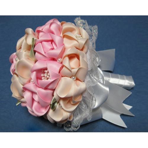Сватбен букет Розови Цветя
