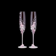 Сватбени ритуални чаши BOHEMIA CRYSTALITE