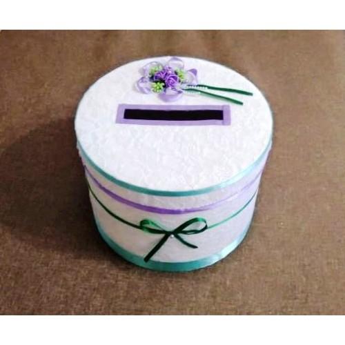 Сватбена кутия за пари 24/16 см