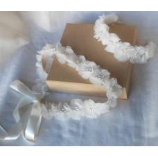 Сватбен шаферски аксесоар за коса