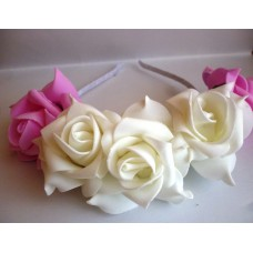 Сватбена Диадема Рози