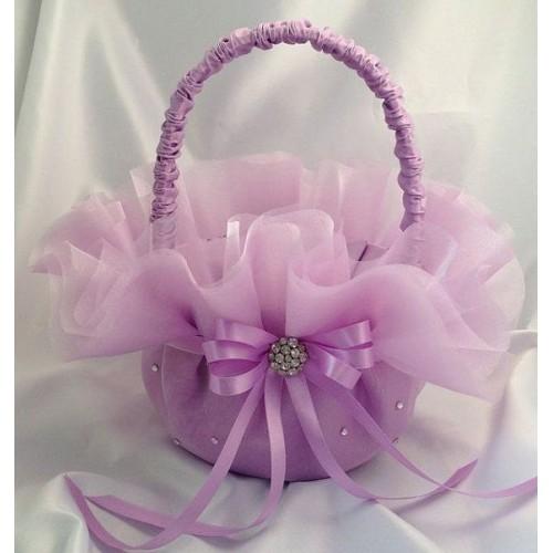 Малка сватбена кошничка за късмети