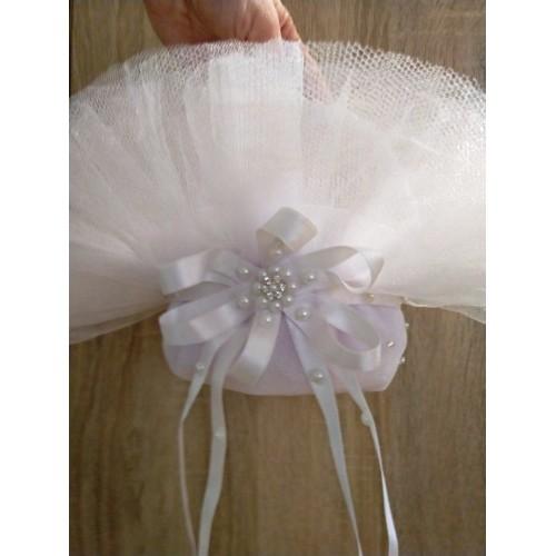 Малка сватбена кошничка за шаферки