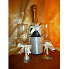 Сватбена Шампанско и чаши