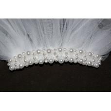 Булчински воал с перли
